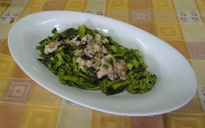 Agriturismo la Candina del Nonno | Broccoli e salsiccia