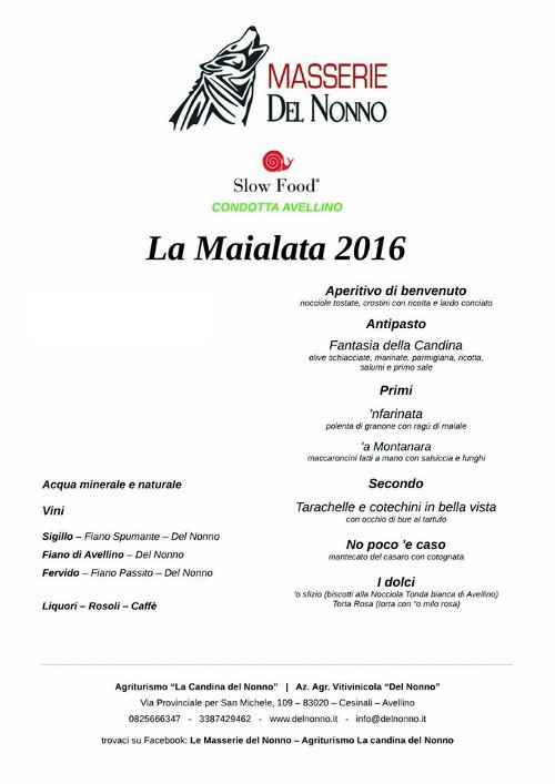 Maialata 2016 | Masserie del Nonno | www.delnonno.it