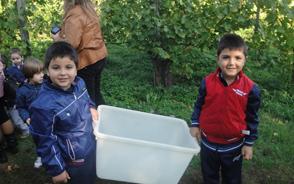 Masserie del Nonno | La Fattoria Didattica - Gli 'operai' in vigna!