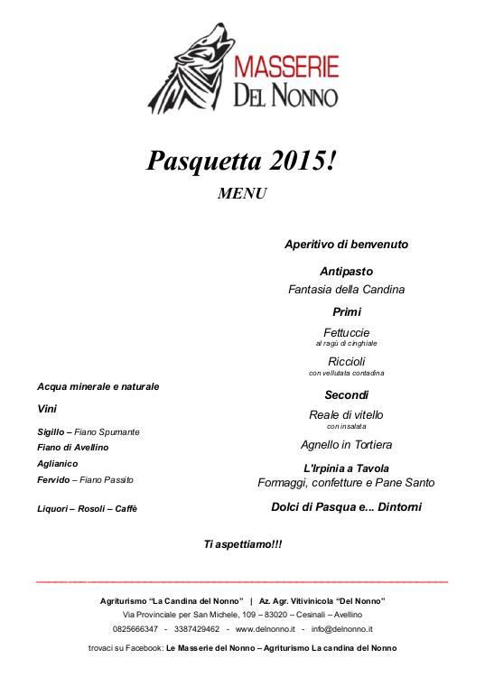 Auguri dalle Masserie del Nonno | www.delnonno.it